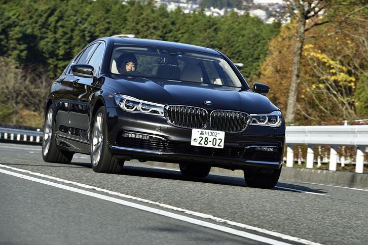 BMW 740i(FR/8AT)【レビュー】