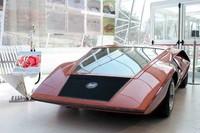 1970年「ランチア・ストラトス ゼロ」。2006年4月、ミラノ・デザインウィークで。