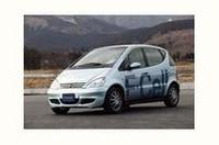 ダイムラークライスラー、燃料電池車の公道走行試験開始の画像