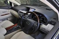 """レクサスRX450h""""バージョンS""""(4WD/CVT)【短評】"""
