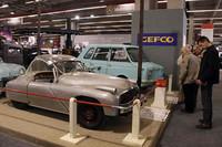 エンジニア、ゴネが1947年に考案したハイブリッド車。
