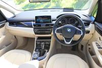 インストゥルメントパネルまわりは、メーター内の表示や走行モードの切り替え機構などを除くと、ガソリン車やディーゼル車との大きな違いはない。