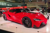 こちらは「FT-1」。2014年1月のデトロイトモーターショーで初公開された。