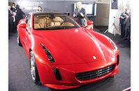 世界にたった1台、ジウジアーロ50周年記念「フェラーリGG50」にBSタイヤ装着の画像