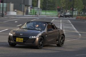 ホンダS660 αブルーノレザーエディション(MR/6MT)【試乗記】