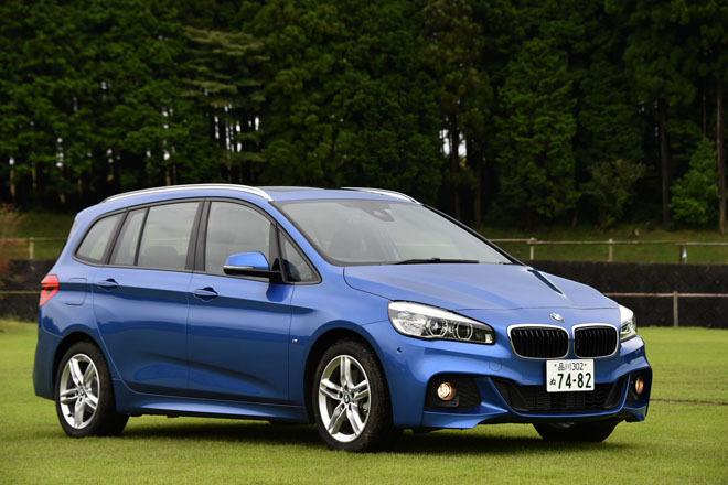 BMW 218dグランツアラー Mスポーツ(FF/8AT)【レビュー】