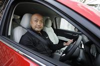 新型「CX-5」の開発を率いた児玉眞也主査。