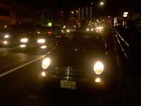 """ヒートアイランド現象でウダる都内も、夜だとオープンドライブが楽しめる。暗くて""""よけいなモノ""""も見えないし。"""