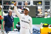 このレースを9位で終え、4度目のタイトルを獲得したメルセデスのルイス・ハミルトン。(Photo=Mercedes)