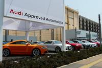 アウディ、国内最大の認定中古車センターを開店の画像