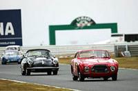 「クラス2」で勝ったのは、小島禎一/迫愛彦両選手のNo.22 1953年フェラーリ212。