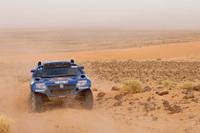 VW勢のエース、カルロス・サインツはトップ争いを展開。