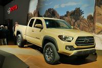 新型「トヨタ・タコマ」。タコマはここ10年ほど、ミドルサイズトラック市場のベストセラーに君臨していた。
