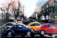 フォルクスワーゲン「ビートルズ」(Beetles)のパロディ広告