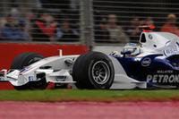 冬のテストで好調だったBMWザウバー。ハイドフェルド(写真)は予選3位からレース序盤2位を走行。ポテンシャルの高さを示した。しかしチームメイトのロバート・クビサはギアボックストラブルでリタイア。信頼性という課題は残る。(写真=BMW)