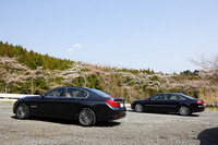 同伴車その2は、アウディA8 L 6.0クワトロ(車両価格=1787万円)
