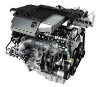 マツダスピードアクセラの心臓、2.3リッター直4直噴ターボエンジン。