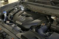 最新の2.5リッター直4ターボエンジン(250hp)を搭載する。