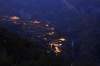 全国120峠にノミネートされている栃木県のいろは坂。