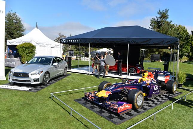 今年はインフィニティ(日産)が初めて「モータースポーツ・ギャザリング」をサポート。F1マシンもさることながら、「Q50オールージュ」が高い注目を集めていた。