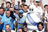 【F1 2006】第9戦カナダGP、アロンソ今季4回目のポール・トゥ・ウィン達成、ミシュラン通算100勝目の画像