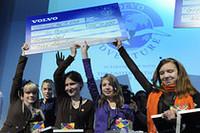 写真は昨年優勝のロシアチーム。