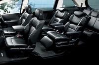 「ハイブリッド アブソルート Honda SENSING EXパッケージ」のシート。