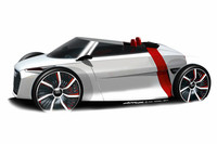 アウディ、都市型EVのオープンカーを出展【フランクフルトショー2011】
