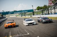 2013年のSUPER GT第5戦が開催されるタイミングで、鈴鹿サーキットにおいて公開された、GT500クラスの次期型マシン。