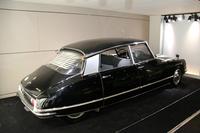 シトロエンの初代「DS」は、シャルル・ドゴール元フランス大統領にこよなく愛された。これはプライベート用に用いられた車両。