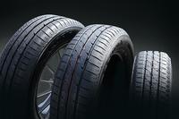 「エコピア」ブランドの新商品「EX20シリーズ」は、優れたウエット性能とロングライフ性能をセリングポイントとする車種別専用設計の低燃費タイヤ。