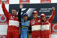 【F1 2006】第5戦ヨーロッパGP、シューマッハー&フェラーリ完勝の画像