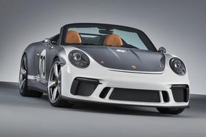 ポルシェが「911スピードスターコンセプト」を発表