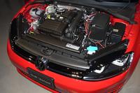 用意されるエンジンは1.2リッターTSI(コンフォートライン)と1.4リッターTSI(ハイライン)の2種類。