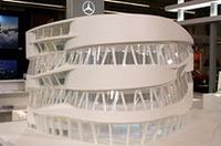 パリの「レトロモビル」で展示されたモデル