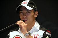 佐藤琢磨、2004年はBARホンダでF1復帰!の画像