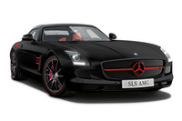 「SLS AMGロードスター マットブラックエディション」