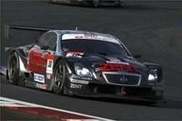 GT500クラス優勝のNo.38 ZENT CERUMO SC430(立川祐路/リチャード・ライアン組)。