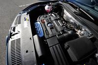 ターボ+スーパーチャージャーによって加給される1.4リッター直4エンジンは、150psと24.5kgmを発生する。