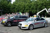 フランスの一大レース、ルマンだが、ペースカーはドイツのアウディが務める。