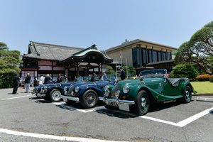 「MORGAN CARS JAPAN INTRODUCING」の会場から