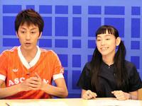 篠原ともえさん、オクイシュージさん出演の情報番組『ニューズメイカー』(BS朝日)。紹介した回は、2003年8月28日の21:00にオンエアーされます!