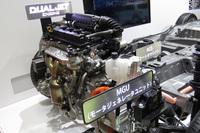 エンジンには純ガソリン車の「ソリオ」と同じ「K12C」型が採用されている。