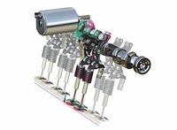 新型3シリーズコンパクトには、1.8リッター直4ツインカムと、2.5リッターストレートシックスを積むモデルがラインナップされる。トランスミッションは、5MTか、ステップトロニック付き5AT。1.8リッターユニットには、吸排気バルブの作動タイミングを変化させる「ダブルVANOS」に加え、吸気バルブのリフト量をも変える「バルブトロニック」が搭載される。