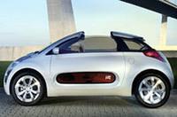 シトロエン、ドア下に窓がある2人乗りコンセプトカー「C-AirPlay」【ジュネーブショー06】の画像