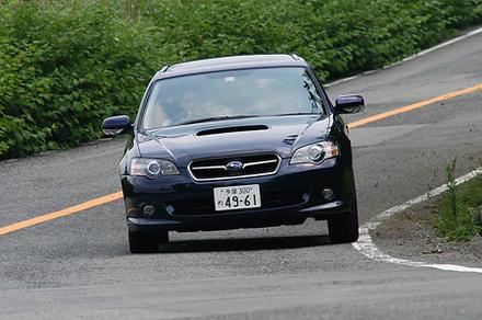 スバル・レガシィツーリングワゴン 2.0GT spec.B(5MT&5AT)【試乗記】