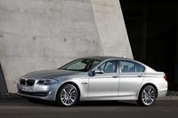 BMW 5シリーズ、新エンジンで燃費向上の画像