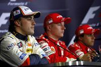 スペインの国民的ヒーロー、アロンソ(手前)が予選2番手。マシンのポテンシャルをカバーする、元チャンピオンの力走に地元大観衆は狂喜した。レース前に「6位が現実的」とコメントしていたが、5位走行中にエンジントラブルでリタイア。(写真=Renault)