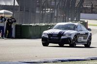 ホッケンハイムサーキットを行く「アウディRS 7」自動運転コンセプトカー。