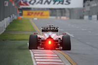 この週末、いまいちパッとしなかったフェラーリのフェリッペ・マッサ(写真)は、予選5位からスタートで2位にジャンプアップしたことで上位に食い込むきっかけをつかみ、結果3位表彰台を獲得。チームメイトで開幕戦ウィナーのフェルナンド・アロンソは、スタートで接触、スピンした後に挽回し4位でゴール。(写真=Ferrari)